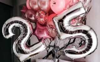С днем рождения подруга 25 летием