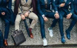 Основные виды мужской обуви — особенности, отличия