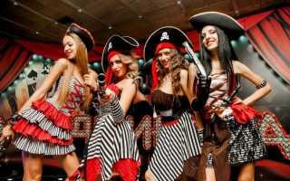Оформление в пиратском стиле