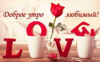 Смс стихи с добрым утром любимому