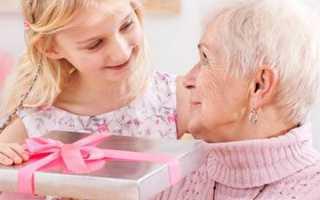 Стенгазета для бабушки на юбилей