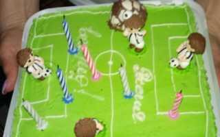 День рождения в стиле футбола оформление