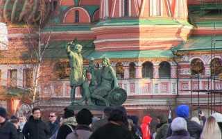 Сценарий празднования дня народного единства