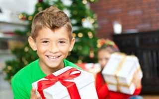 Новогодний подарок мальчику 10 лет