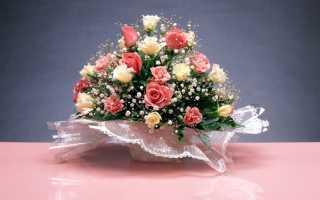 Какие цветы дарят женщине на 55 лет