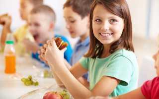 Детское меню с рецептами