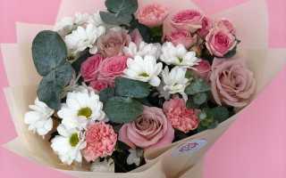 Букет цветов на 18 лет девушке