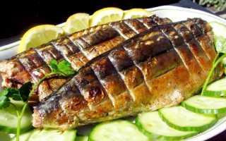 Рыбная вечеринка меню