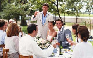 Интересное поздравление на свадьбу от родственников