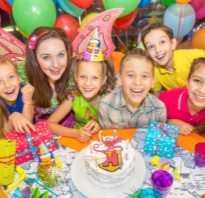 Меню на день рождения для подростков