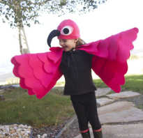 Костюм фламинго своими руками