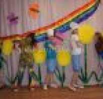 Сценарий выпускного утренника в детском саду