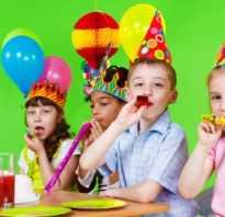 Меню на день рождения ребенка 6 лет