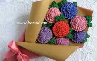 Цветы из айсинга для пряников мастер класс