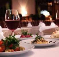 Фото ужина в ресторане на двоих