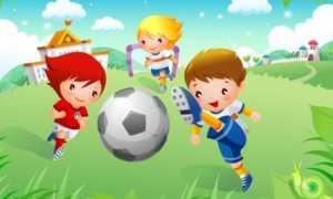 Спортивные игры для детей в помещении