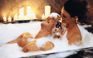 Романтика в ванной со свечами фото