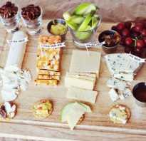 Сырная тарелка в домашних условиях фото