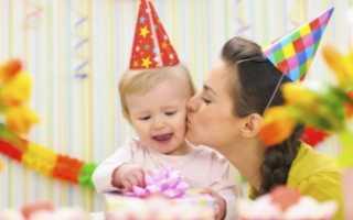 Меню на детский день рождения 2 года