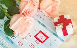 Сколько дней осталось до 8 марта 2020