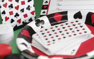 Оформление в стиле казино
