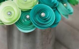 Бумага для композиций из цветов