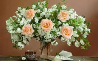 Стихи про букет цветов короткие