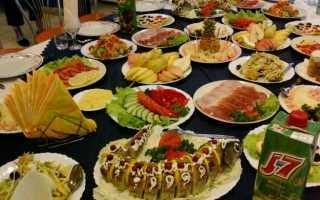 Что приготовить на юбилей приглашая гостей