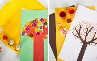 Картинки разноцветные листья