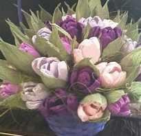 Какие цветы можно сделать из гофры